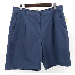 NWT Flawed Woolrich Pleated Burmuda Shorts 14